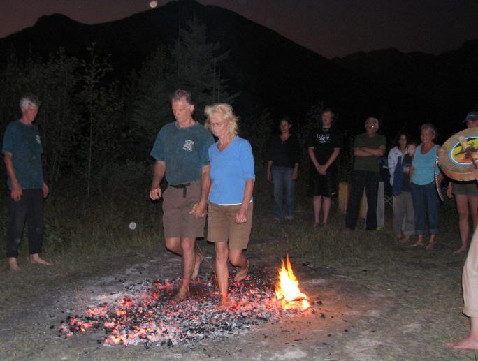 fire walking seminar quantum leaps retreats
