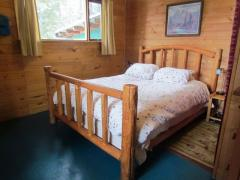 Queen Size Log Bed  ($500 for this bed..special price)